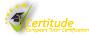 CERTITUDE - Tutor certification